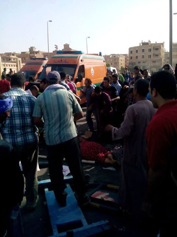الحادث اسفر عن مصرع 5 اشخاص واصابة 20 اخريين  -اليوم السابع -6 -2015