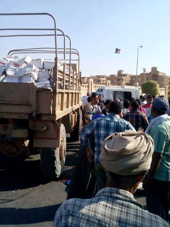 الحادث نتج عن انقطاع تيل الفرامل الخاص بالسيارة -اليوم السابع -6 -2015