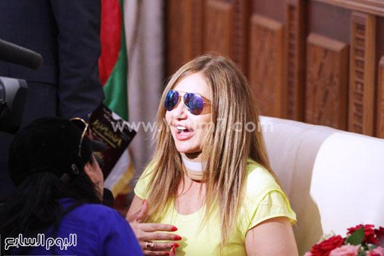 الفنانة ليلى علوى -اليوم السابع -6 -2015