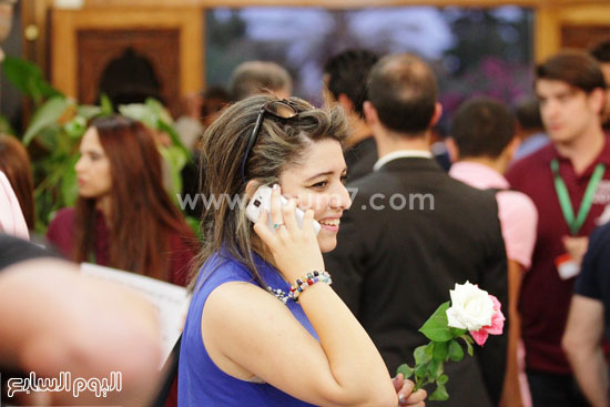 جمهور مهرجان وهران بالجزائر -اليوم السابع -6 -2015