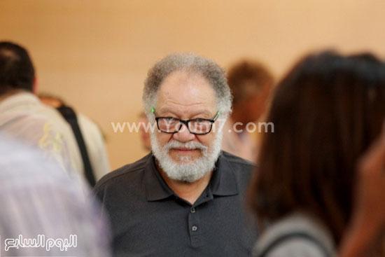 الفنان الكبير يحيى الفخرانى بجانب من المهرجان -اليوم السابع -6 -2015