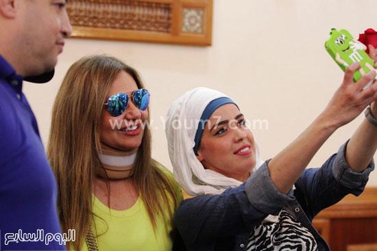 سيلفى الجمهور الجزائرى مع الفنانة ليلى علوى -اليوم السابع -6 -2015