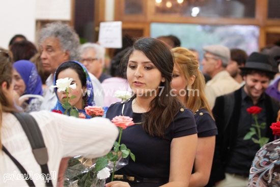 جانب من الاستعداد لمهرجان وهران الدولى للفيلم -اليوم السابع -6 -2015