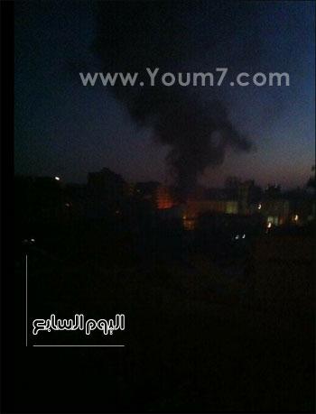 الحريق منذ قليل -اليوم السابع -6 -2015