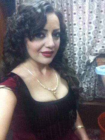 هبه عبد الغنى فى ثوب فردوس -اليوم السابع -6 -2015