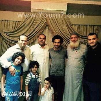 صلاح فى نجريج من البيت إلى الجامع -اليوم السابع -6 -2015
