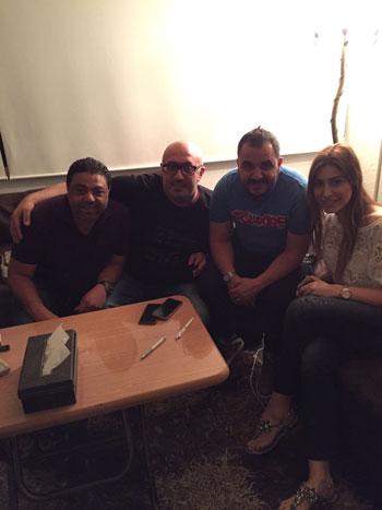 يارا ووليد سعد وطارق أبو جودة ومحمود شميس -اليوم السابع -6 -2015