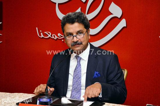 محمد عبد المتعال يجاوب على أسئلة الصحفيين -اليوم السابع -6 -2015