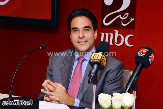 مازن حايك المتحدث الإعلامى لمجموعة mbc -اليوم السابع -6 -2015