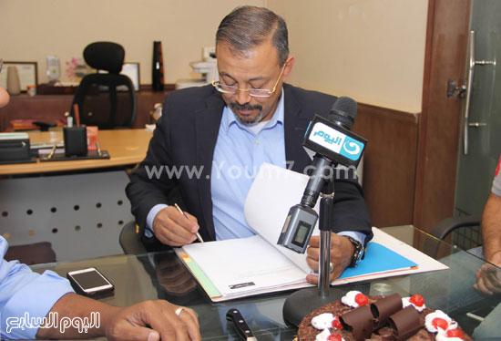 الإعلامى عمرو الكحكى  -اليوم السابع -6 -2015