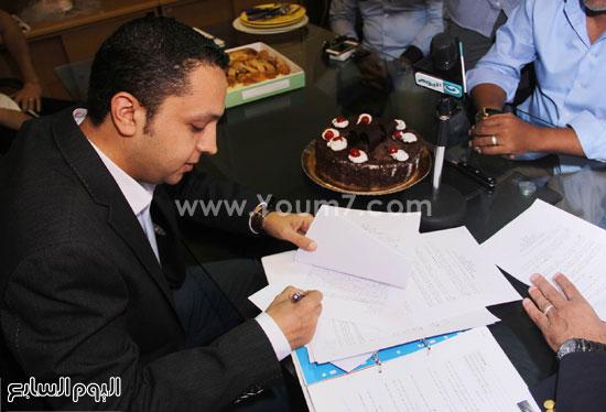 الإعلامى أحمد فايق -اليوم السابع -6 -2015