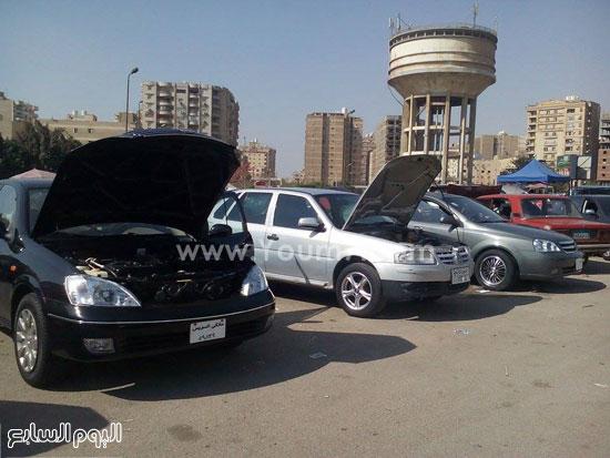 ebbe68011 بالصور.. تعرف على أسعار السيارات المستعملة فى سوق مدينة نصر - اليوم ...