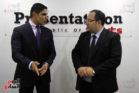 احمد ابو هشيمة إعلام المصريين بريزنتيشن سبورت (1)
