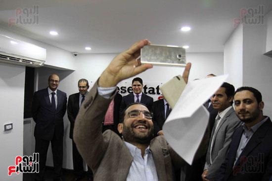 احمد ابو هشيمة إعلام المصريين بريزنتيشن سبورت (5)