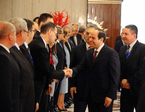 السيسى يشهد توقيع اتفاقيات المجر (1)