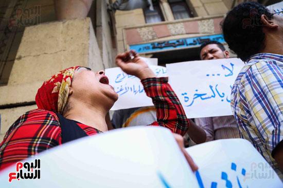 وقفة احتجاجية للاطباء (10)