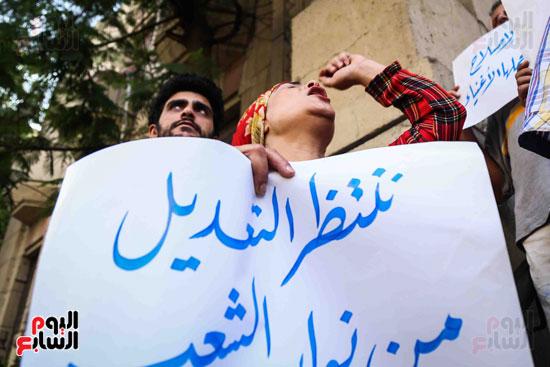 وقفة احتجاجية للاطباء (11)