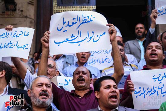 وقفة احتجاجية للاطباء (5)