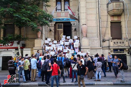 وقفة احتجاجية للاطباء (14)