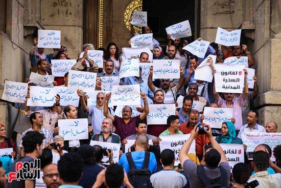 وقفة احتجاجية للاطباء (15)