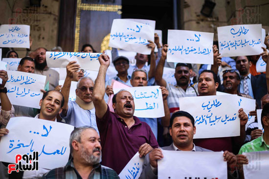 وقفة احتجاجية للاطباء (17)