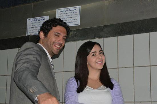 حسن الرداد وإيمى سمير غانم (4)