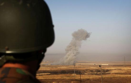 القوات العراقية تواجه مقاومة عنيفة فى معركة الفلوجة (1)