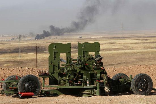 القوات العراقية تواجه مقاومة عنيفة فى معركة الفلوجة (2)