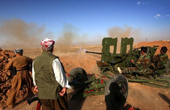 القوات العراقية تواجه مقاومة عنيفة فى معركة الفلوجة (3)