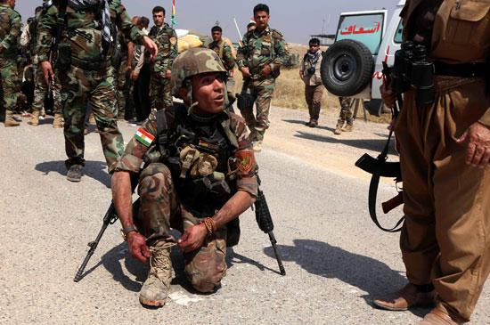 القوات العراقية تواجه مقاومة عنيفة فى معركة الفلوجة (4)