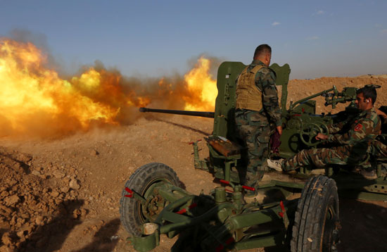 القوات العراقية تواجه مقاومة عنيفة فى معركة الفلوجة (5)