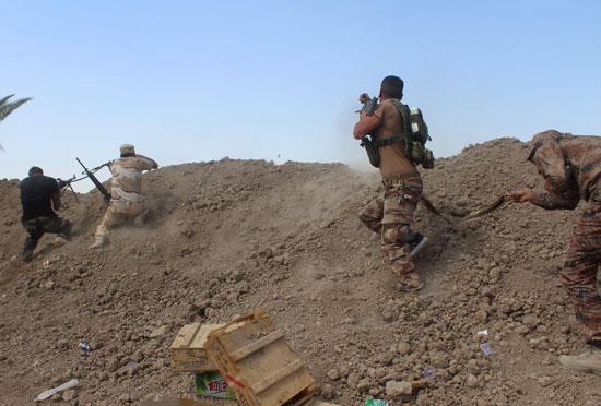 القوات العراقية تواجه مقاومة عنيفة فى معركة الفلوجة (7)