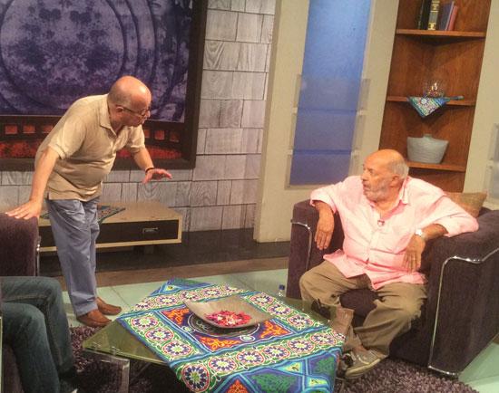 مجدي-الطيب-مع-المخرج-محمد-خان