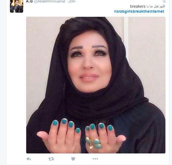 بنات العرب يحطمن الإنترنت (2)