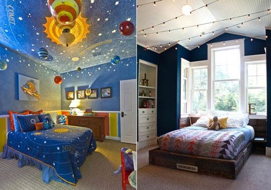 بالصور غرف نوم أطفال بتصميمات سقف غير تقليدية Quot هتخليها