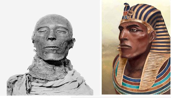 بالصور.. بالـ3d تخيل شكل المصريين القدماء - اليوم السابع
