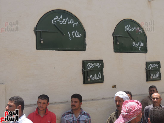 تشييع جثمان أمين شرطة بالدقهلية استشهد فى شمال سيناء (10)