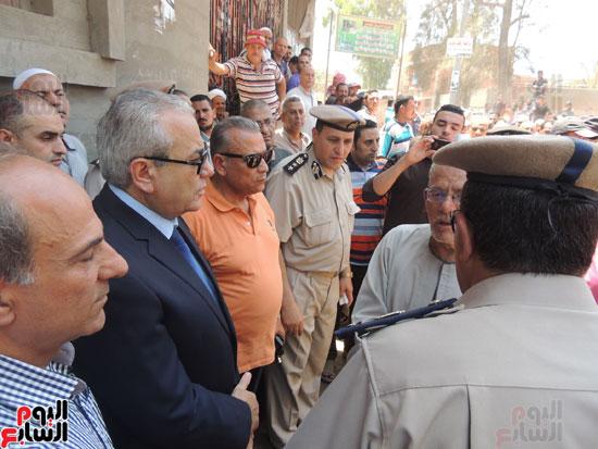 تشييع جثمان أمين شرطة بالدقهلية استشهد فى شمال سيناء (19)