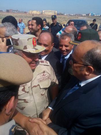 اللواء كامل الوزيرى رئيس الهيئة الهندسية للقوات المسلحة (1)