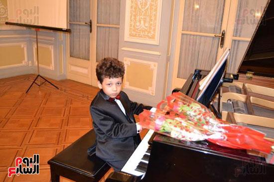 حفل موسيقى بالمركز الثقافى الروسى بالإسكندرية (9)