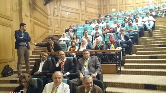انطلاق فعاليات المؤتمر السنوى لقسم التخدير بجامعة عين شمس (3)