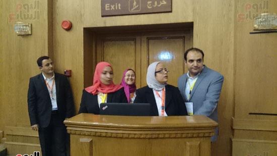 انطلاق فعاليات المؤتمر السنوى لقسم التخدير بجامعة عين شمس (5)