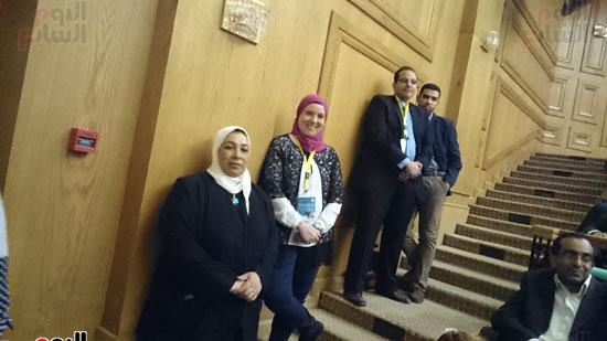 انطلاق فعاليات المؤتمر السنوى لقسم التخدير بجامعة عين شمس (7)