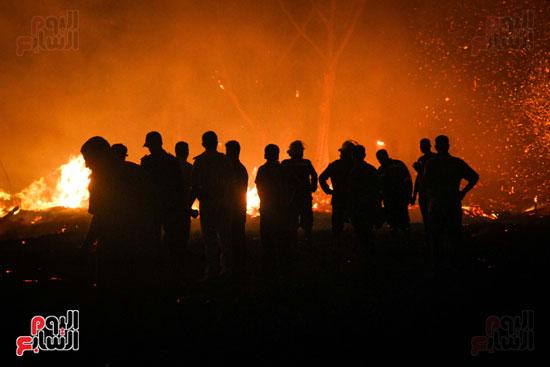 حريق  مدينة السينما بشارع الهرم (3)