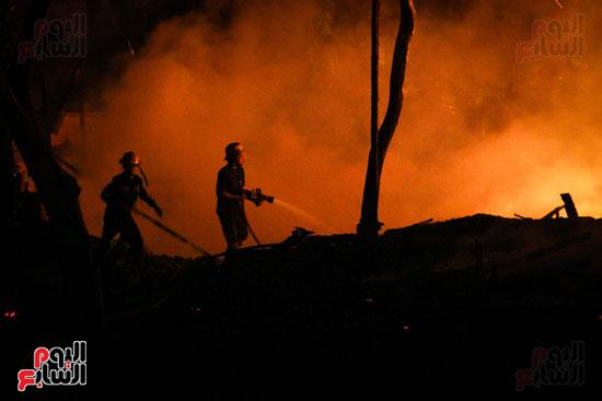 حريق  مدينة السينما بشارع الهرم (5)