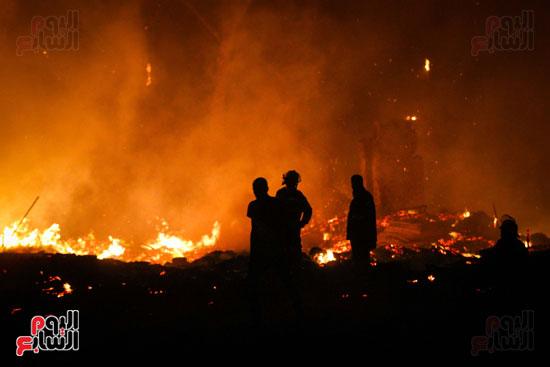 حريق  مدينة السينما بشارع الهرم (11)