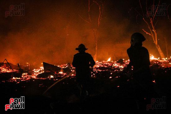 حريق  مدينة السينما بشارع الهرم (19)
