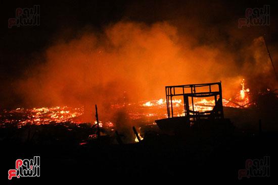 حريق  مدينة السينما بشارع الهرم (25)