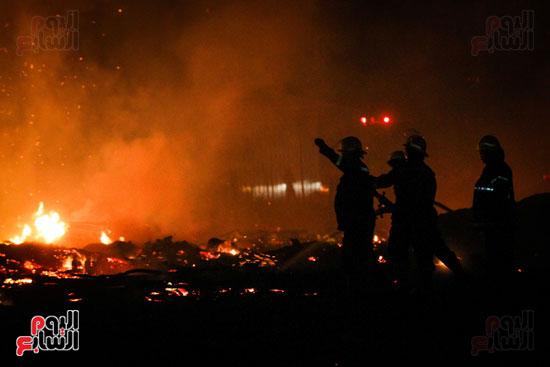 حريق  مدينة السينما بشارع الهرم (31)