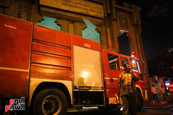 حريق  مدينة السينما بشارع الهرم (34)